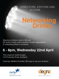 Auckland Drinks invite APRIL22