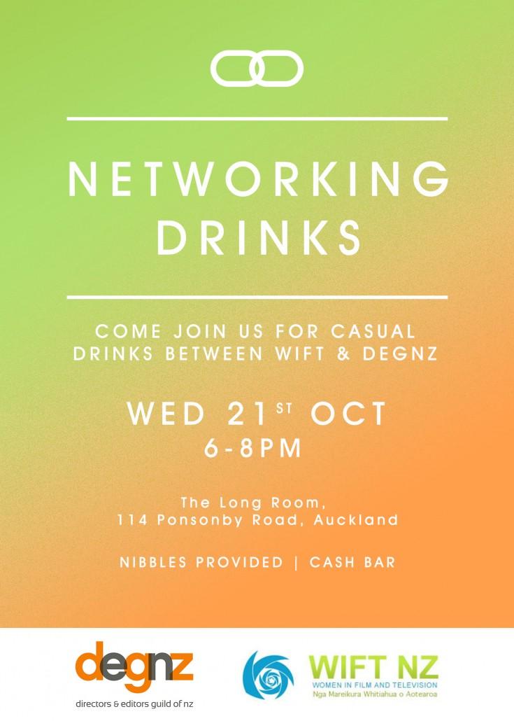 WIFT DEGNZ drinks invite