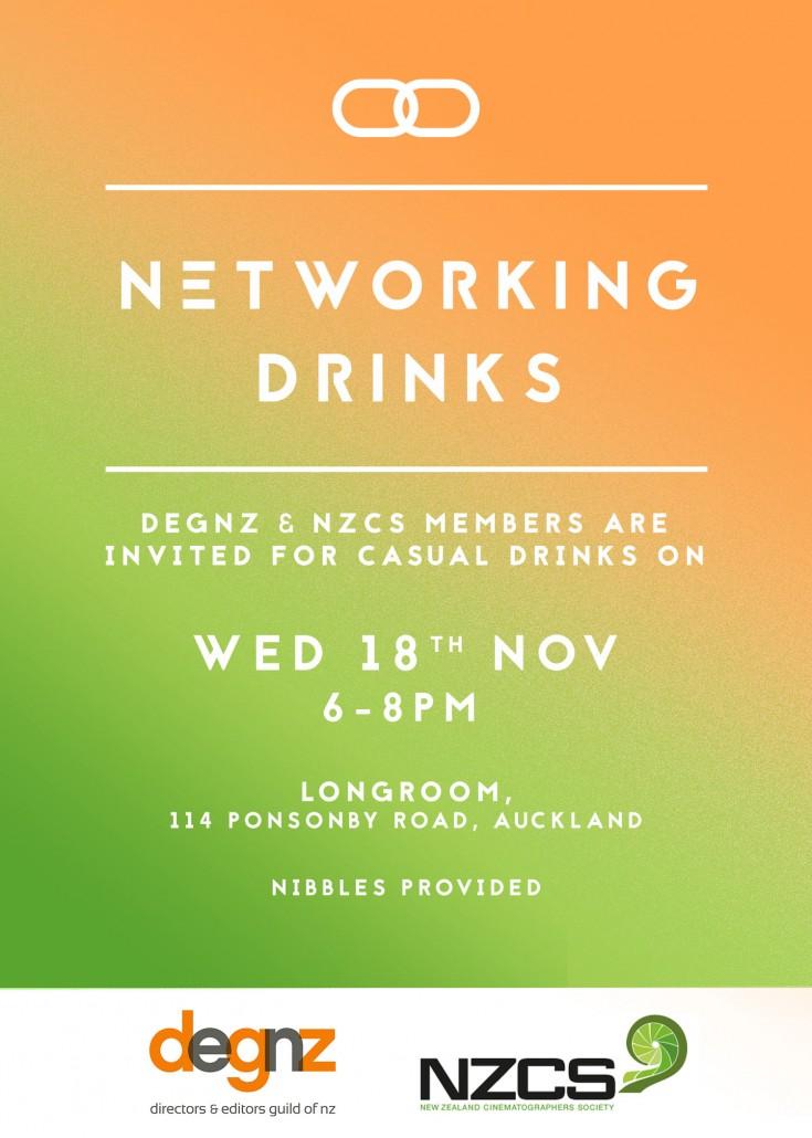 NZCS DEGNZ drinks invite