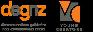 DEGNZ Young Creators logos